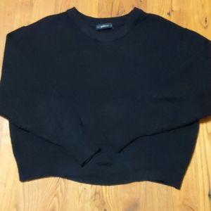 Zara Knit Black Sweater Size M